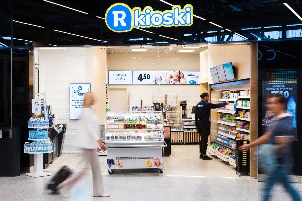 R-kioski-Helsinki-Vantaa