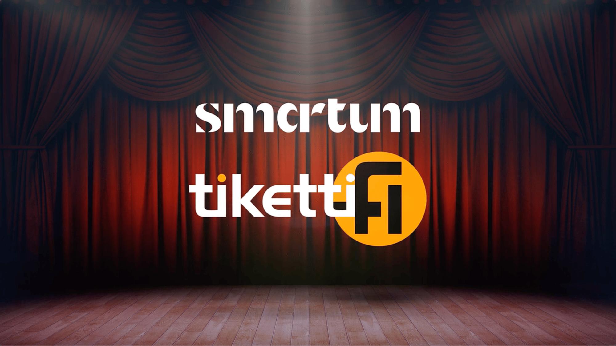 Smartumin kulttuuriedulla voi nyt maksaa Tiketin verkkokaupassa!