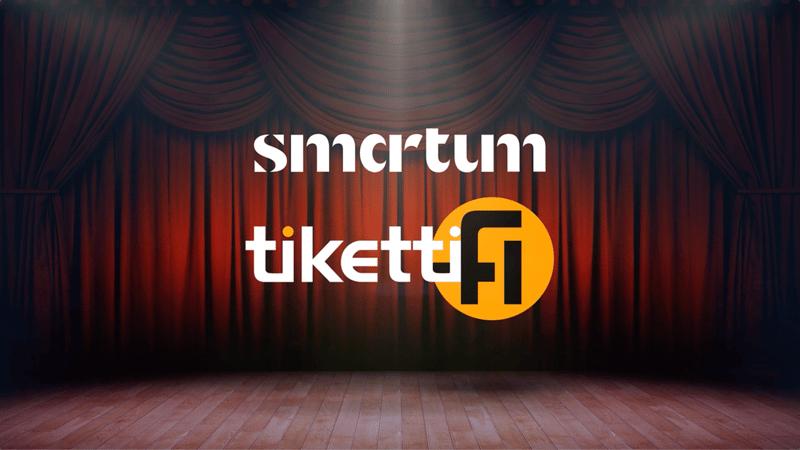 Nyt voit ostaa Smartumin kulttuuriedulla tapahtumalippuja Tiketin verkkokaupasta!