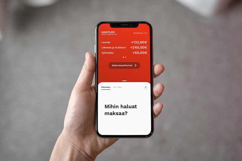 Mutkatonta maksamista SmartumPay-mobiilisovelluksella!
